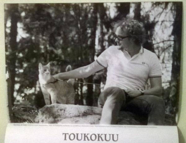 kissa ja mies