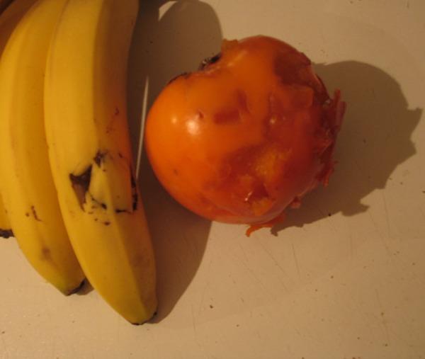 hampaanjäljet banaanissa, sharon revitty